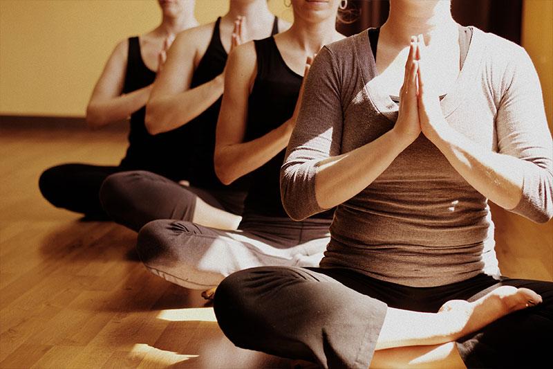 yoga salutation